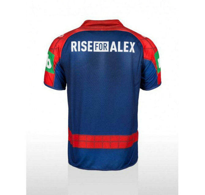 Maillot rugby adulte - Spiderman - ISC